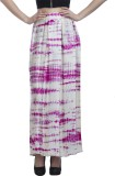 Peptrends Printed Women's Pleated Pink S...