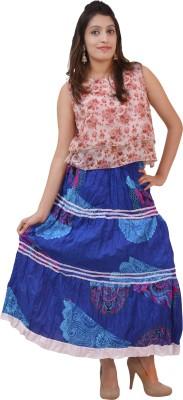 Carrol Printed Women's Regular Multicolor Skirt