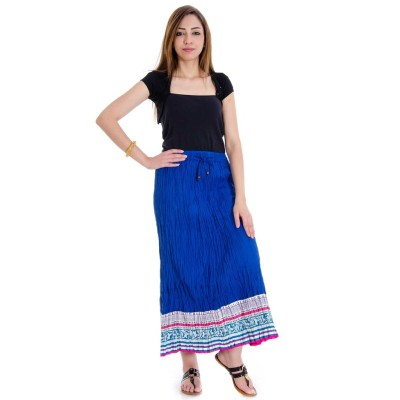 rebella Solid Women's A-line Multicolor Skirt
