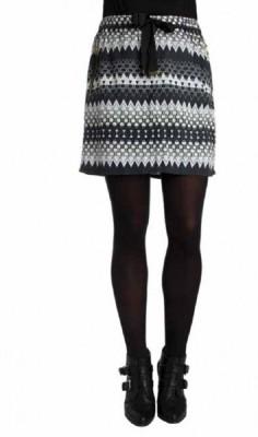 Paramita Printed Women's Regular Multicolor Skirt