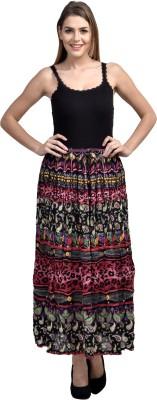 Shopping Queen Animal Print Women's Regular Pink Skirt