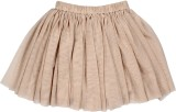 Teeny Tantrums Solid Girls Layered Beige...