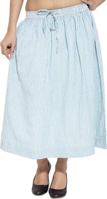 Simplona beau Solid Women's A-line Blue Skirt