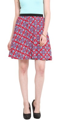 Ridress Solid Women's Pleated Multicolor Skirt