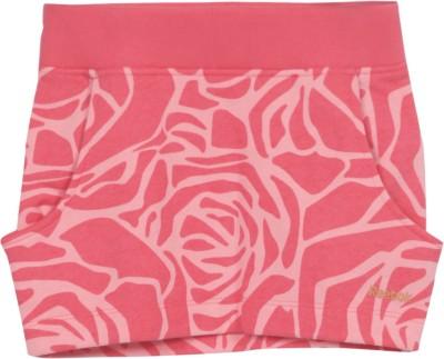 Reebok Printed Girls Tube Pink Skirt