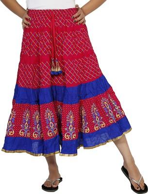 Sringar Solid Women's Regular Pink Skirt