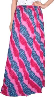 Bright & Shining Graphic Print Women's Regular Multicolor Skirt