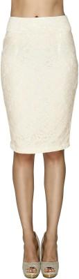 20Dresses Embroidered Women's Pencil White Skirt