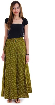 Sunshine Self Design Women's Regular Multicolor Skirt