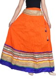 Vani Solid Girls Broomstick Multicolor S...