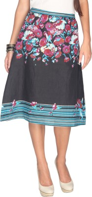 Max Printed Women's Multicolor Skirt