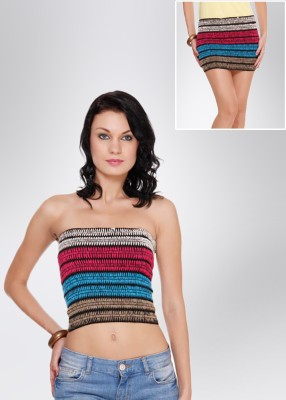 N-Gal Women's Multicolor Skirt