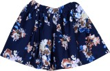 Bella Moda Printed Girls Gathered Blue S...