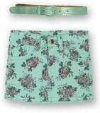 Lilliput Floral Print Girls A-line Green...