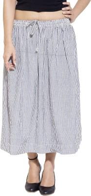 Simplona beau Solid Women's A-line Grey Skirt