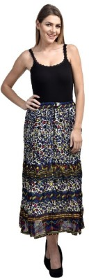 pinksisly Solid Women,s Layered Multicolor Skirt