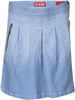 Gini & Jony Solid Baby Girls Regular Blue Skirt best price on Flipkart @ Rs. 614