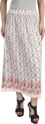 Naitik Printed Women's Regular Pink Skirt