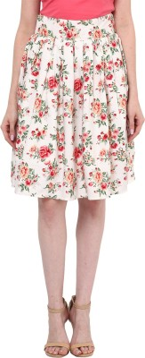 Hitch-Ki Floral Print Women's A-line Multicolor Skirt at flipkart