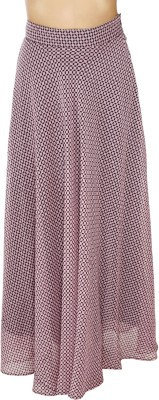 20Dresses Geometric Print Women's Asymetric Pink, Black Skirt