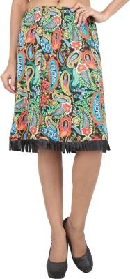 Mineral Printed Women's Regular Multicolor Skirt