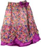 SSMITN Printed Girls A-line Multicolor S...