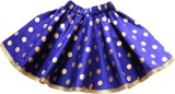 Little Leaf Polka Print Girls Gathered B...