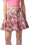 Cation Graphic Print Women's A-line Pink...