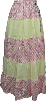 Vg store Printed Women's Straight Multicolor Skirt