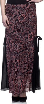 One Femme Paisley Women's A-line Pink Skirt