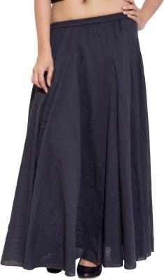 Simplona beau Solid Women's A-line Black Skirt