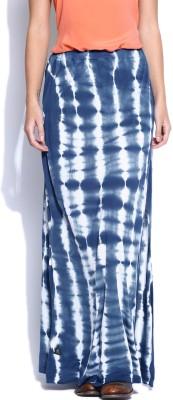 Roadster Printed Women's Regular Blue Skirt