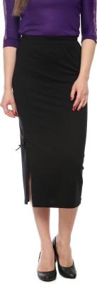Vvoguish Printed Women's Straight Blue Skirt