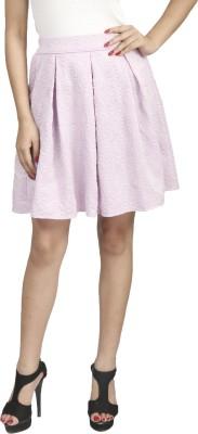 Naitik Self Design Women's Regular Orange Skirt