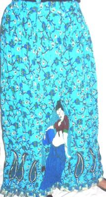 Ultimate Fashion Printed Women's Regular Multicolor Skirt