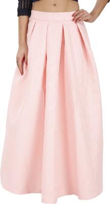 Svt Ada Collections Printed Women,s Regular Orange Skirt