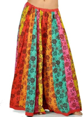 Indiangiftemporium Printed Women's Regular Multicolor Skirt