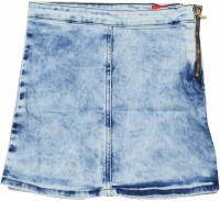 Gini & Jony Solid Girls A-line Blue Skirt best price on Flipkart @ Rs. 520