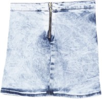 Gini & Jony Solid Girls A-line Blue Skirt best price on Flipkart @ Rs. 779