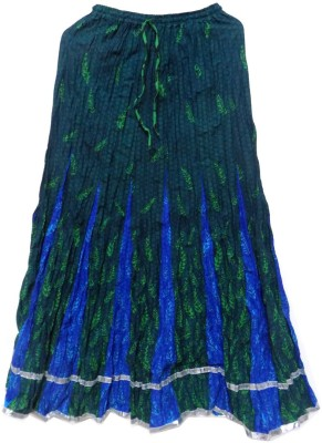 Jaipur craft shop Printed Women's Straight Multicolor Skirt