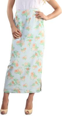Belle Fille Floral Print Women's A-line Multicolor Skirt