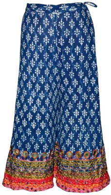 Alicolours Printed Women's A-line Multicolor Skirt