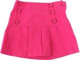 ChildKraft Solid Girls Regular Pink Skir...