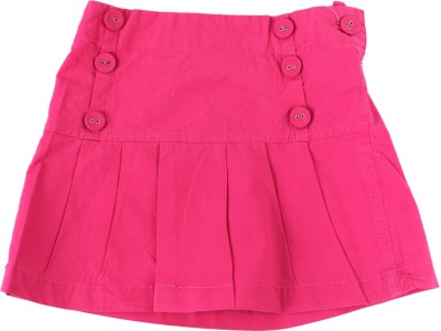 Childkraft Solid Girls Regular Pink Skirt