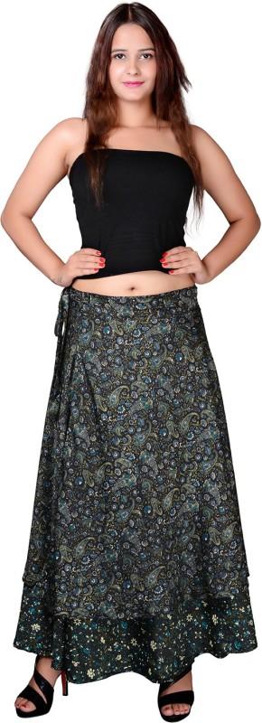 Factorywala Paisley Women's A-line Multicolor Skirt