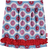 Bakery Babes Printed Girls A-line Blue S...