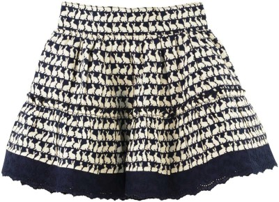 Fisher-Price Printed Baby Girl's Gathered Multicolor Skirt