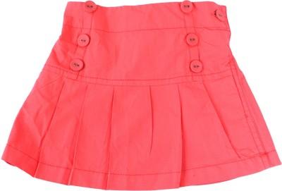 Childkraft Solid Girl's Regular Pink Skirt