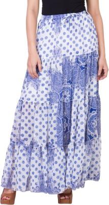 14forty Solid Women's Regular Blue Skirt