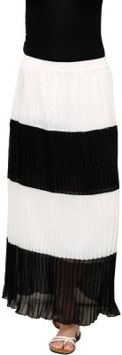 Rvestir Solid Women's Pleated Multicolor Skirt